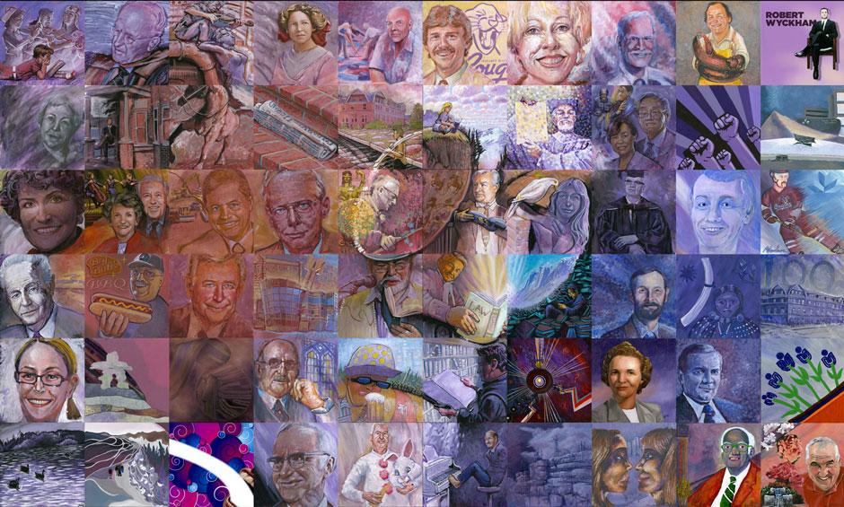About us canada mosaic murals for Cochrane mural mosaic