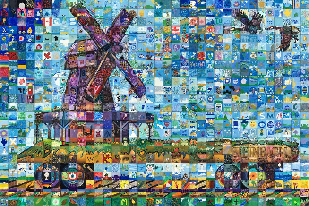 Steinbach Canada Mosaic Murals