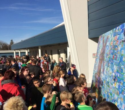 Fabulous community spirit at the Mural Unveiling!