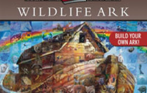 Wildlife Ark - Mural in a Book
