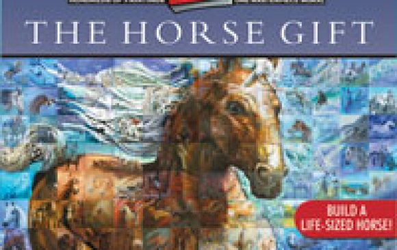 The Horse Gift - Mural in a Book