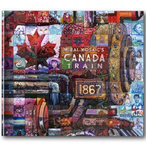 Canada Train Coffee Table Book