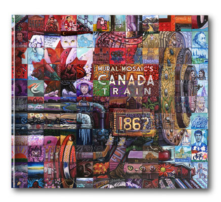 Canada Train Coffee Table Book