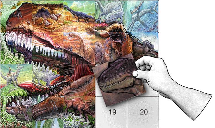 Dinosaur Poster Kit