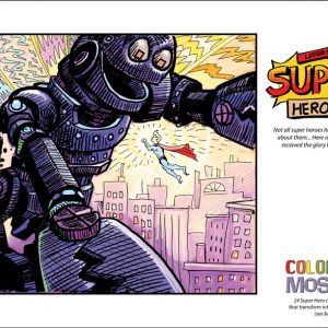 Colouring Book - Super Heroes